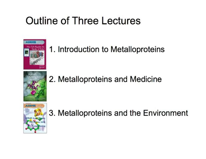 Metalloproteins and the Environment